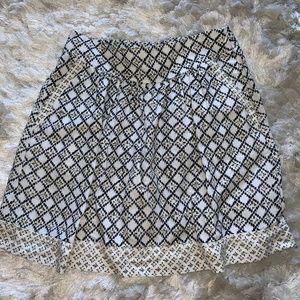Loft Casual Skirt Size 4
